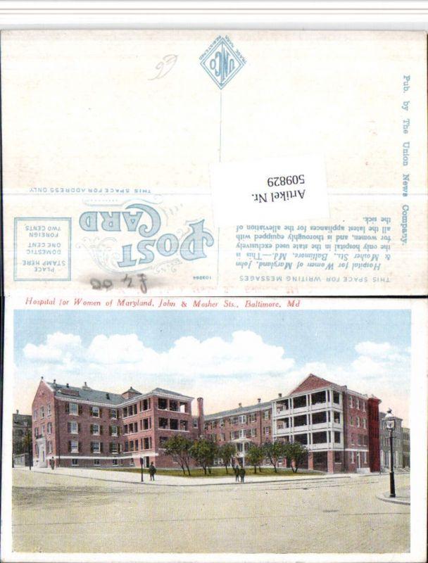 509829,Maryland Baltimore Hospital for Women Krankenhaus
