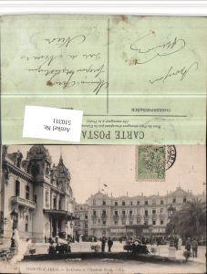 510311,Monaco Monte-Carlo Le Casino et Hotel de Paris