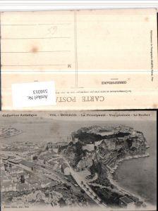 510313,Monaco Vue generale Le Rocher Totale