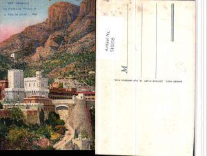 510319,Monaco Le Palais du Prince et Tete de Chien Fürstenpalast