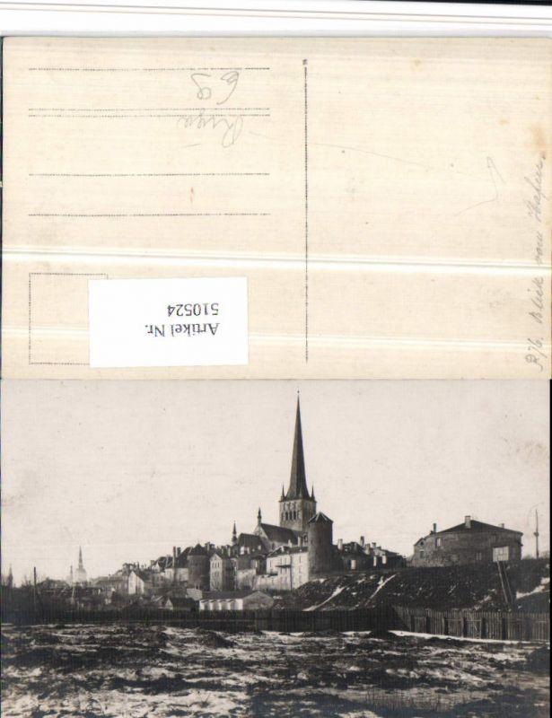 510524,Latvia Riga Blick vom Hafen Teilansicht Kirche