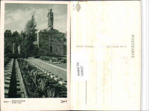 510527,Latvia Riga Heldenfriedhof Statue