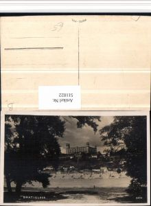 511022,Slovakia Bratislava Pressburg Blick zur Burg