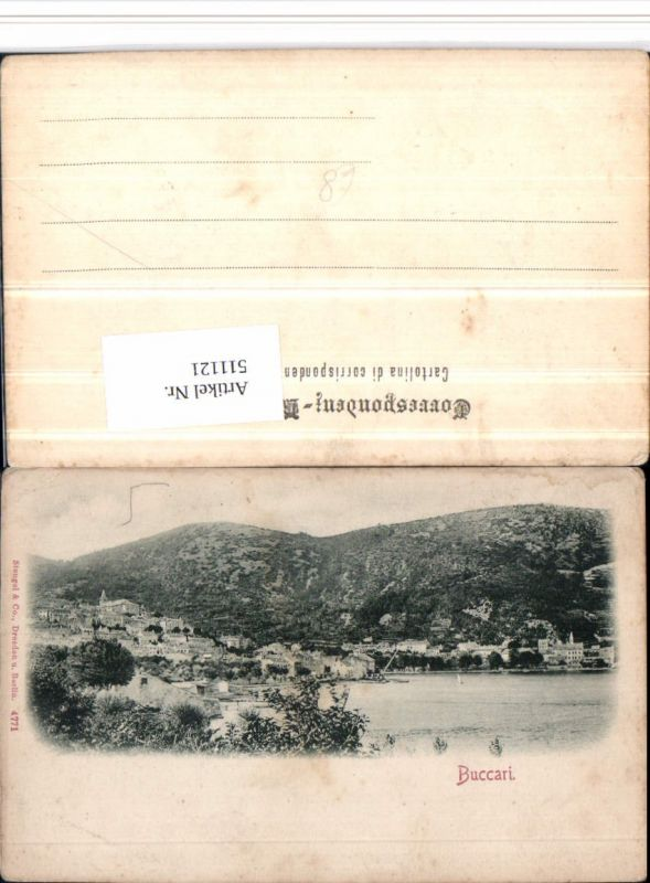 511121,Croatia Buccari Bakar Totale pub Stengel & Co 4771