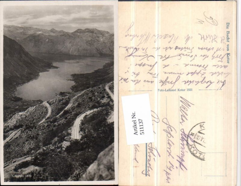 511137,Montenegro Bucht von Kotor Kotorski zaliv Bergkulisse