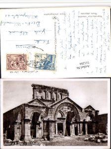 511204,Syria Aleppo Citadel of St. Simon Cathedral Kirche Ruine
