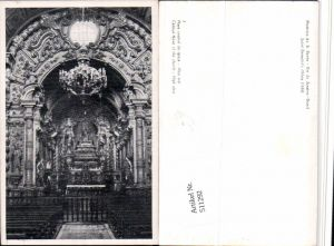 511292,Brazil Rio de Janeiro Mosteiro de S. Bento Kirche Innenansicht