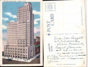 511311,Ohio Toledo Ohio Bank Building Gebäude