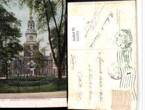 511313,Pennsylvania Philadelphia Independence Hall Gebäude