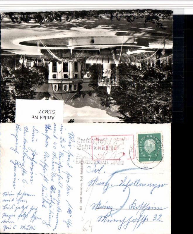 513427,Stempel Bad Reichenhall 1960 Nachgebühr