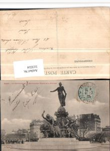 513554,Paris Le Triomphe de la Republique Monument Statue