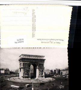 513573,Paris Arc de Triomphe et Place Etoile Torbogen Kreisverkehr