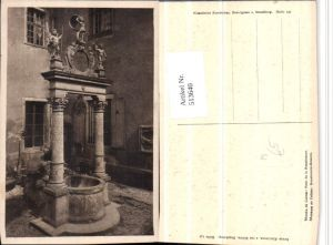 513640,Museum zu Colmar Renaissance-Brunnen