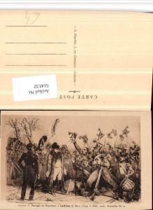 514132,Künstler AK Passage de Napoleon a Laffrey Politiker