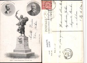 514134,Riom M. Clementel M. Valle Ministre Justice Denkmal Politiker