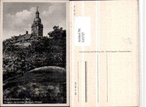 515737,Burg Falkenstein im Harz Turm