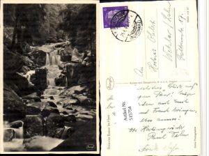 515754,Steinerne Renne im Harz b. Wernigerode Wasserfall pub Stengel & Co