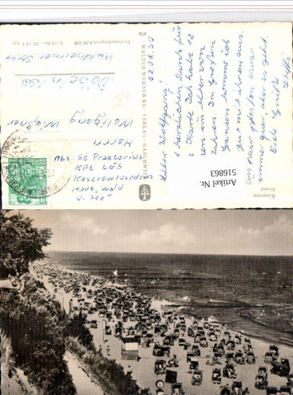 516863,Koserow Strand Strandleben Strandkörbe