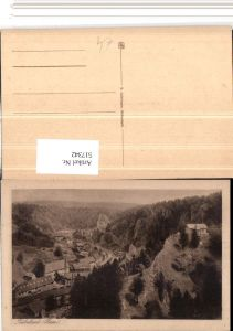 517342,Rübeland b. Oberharz am Brocken Teilansicht