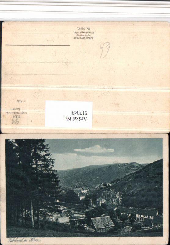 517343,Rübeland b. Oberharz am Brocken Teilansicht