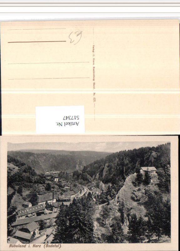 517347,Rübeland b. Oberharz am Brocken Teilansicht