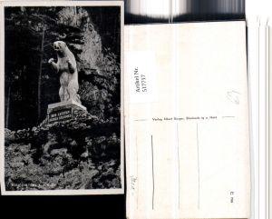 517717,Rübeland b. Oberharz am Brocken Bär Statue
