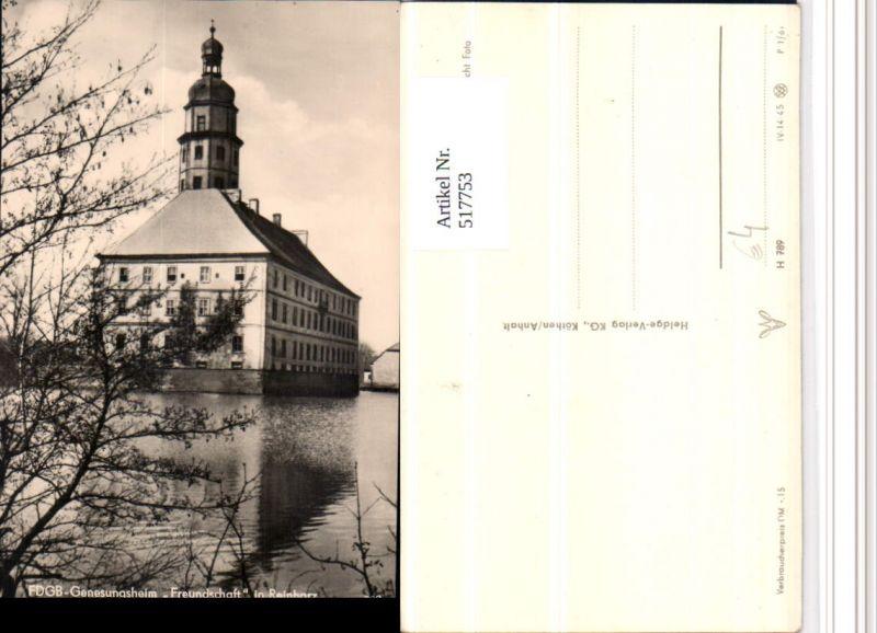 517753,Reinharz b. Bad Schmiedeberg Genesungsheim Freundschaft