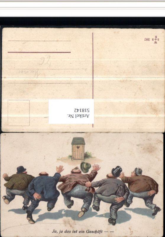 518142,Scherz Humor Toilettenhumor Männer WC Ja das ist ein Geschäft