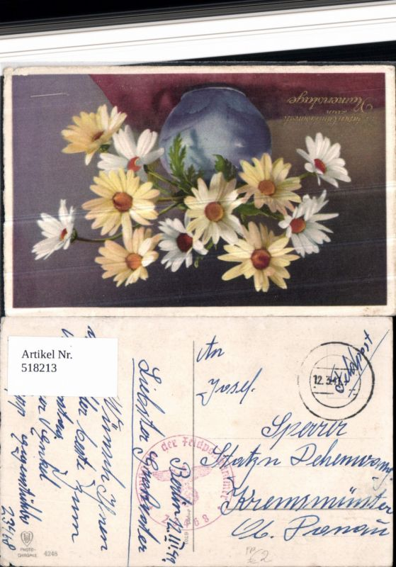 518213,WK 2 Feldpost Tarnstempel Dienststelle 23468 n. Kremsmünster