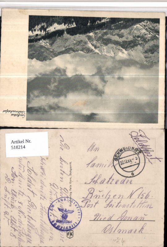 518214,WK 2 Feldpost Landwehr San. Staffel Schweidnitz n. Seitenstetten Buchen