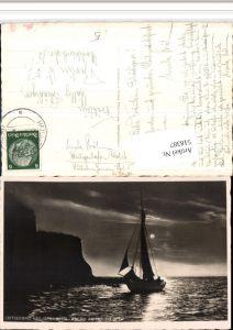 518387,Ostseebad Heiligenhafen Abend am Hohen Ufer Segelschiff Boot