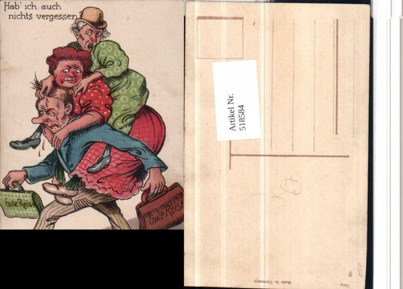 518584,Künstler AK Frauenfeindlicher Scherz Humor Mann Frauen