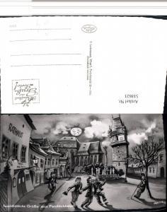 518621,Feuchtfröhliche Grüße Perchtoldsdorf Trinkerhumor Betrunkene Mondgesicht