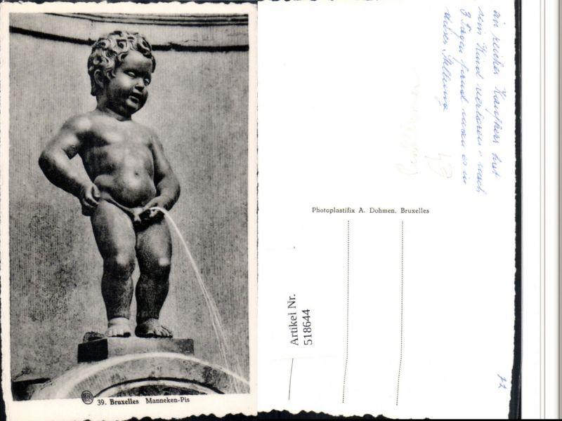 518644,Bruxelles Brüssel Toilettenhumor Manneken-Pis Figur