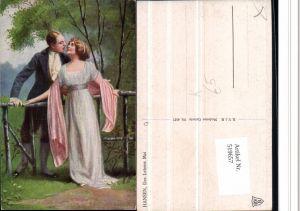 519657,Künstler AK Hansen Des Lebens Mai Liebe Paar Frau Kleid Tuch