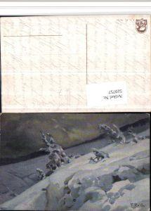 519757,Künstler AK F. Reiss Winterlandschaft pub J. E. 18