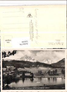 520290,Lansersee See m. Seehotel geg. Igls Bergkulisse