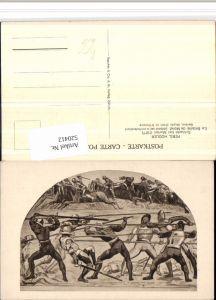 520412,Künstler AK Ferd. Hodler Schlacht bei Murten Krieger Speere
