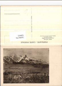 520415,Künstler AK Ferd. Hodler Alpenlandschaft Bergkulisse