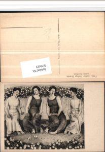 520419,Künstler AK Ferd. Hodler Heilige Stunde Frauen