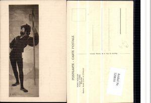 520619,Künstler AK Ferd. Hodler Krieger Mann Speer