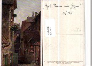 520756,Künstler AK Carl Spitzweg Ein Hypochonder Stadt pub Ackermann 2967