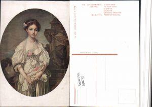 520773,Künstler AK Jean-Baptiste Greuze The broken pitcher Mädchen