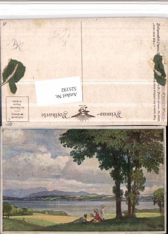 521192,Primus AK 5025 Künstler Corneille Max Unter alten Eichen See