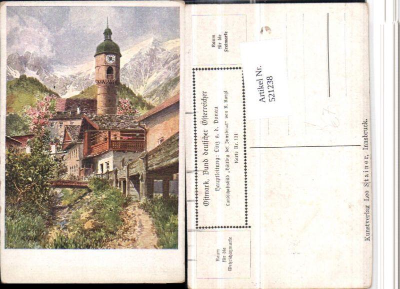 521238,Bund Deutscher Österreicher 121 Künstler R. Kargl Hötting b. Innsbruck Turm
