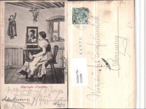 521890,Steirische Trachten Tracht Frau Spiegel