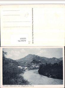 522323,Ennstal Losenstein Totale m. Schieferstein Bergkulisse