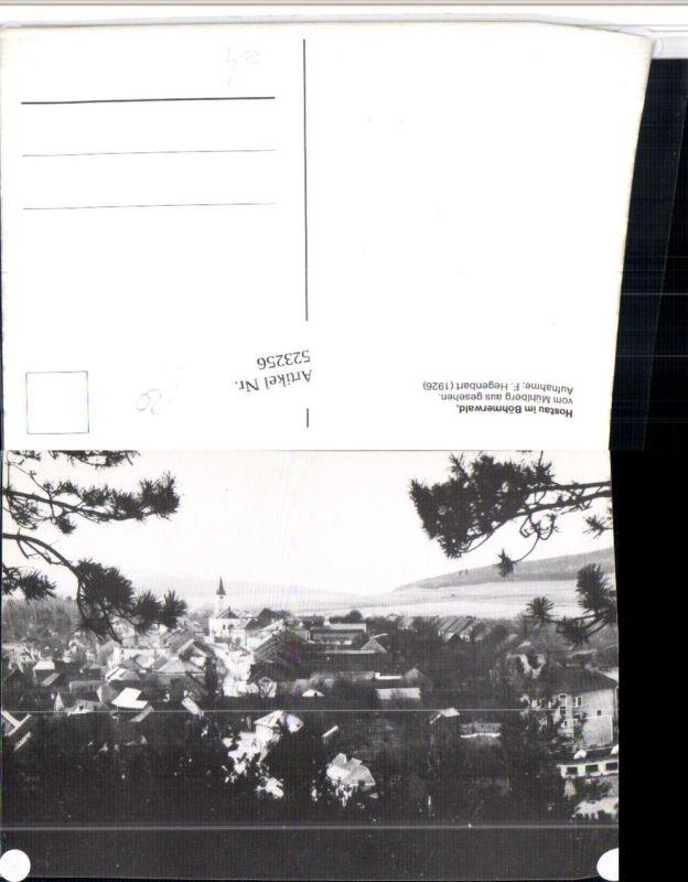 523256,Hostau im Böhmerwald Hostoun vom Mühlberg Totale