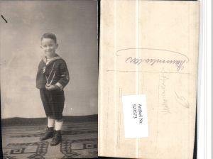 523573,Junge Bub in Uniform Matrosenanzug Matrose Seemann