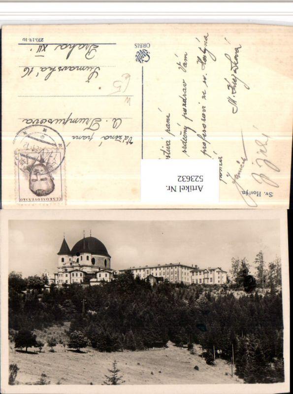 523632,Svaty Hostyn Hostein b. Bistritz Bystrice Kloster Kirche